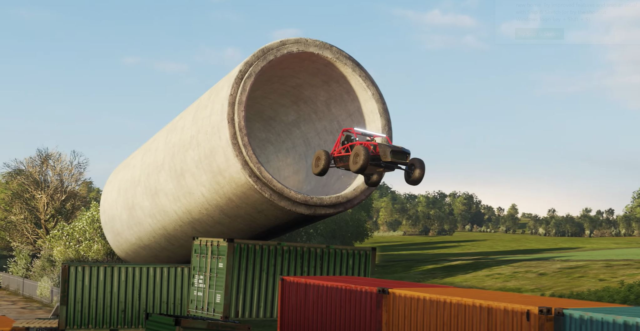 Forza Horizon 4 is getting a free stunt racing update this week