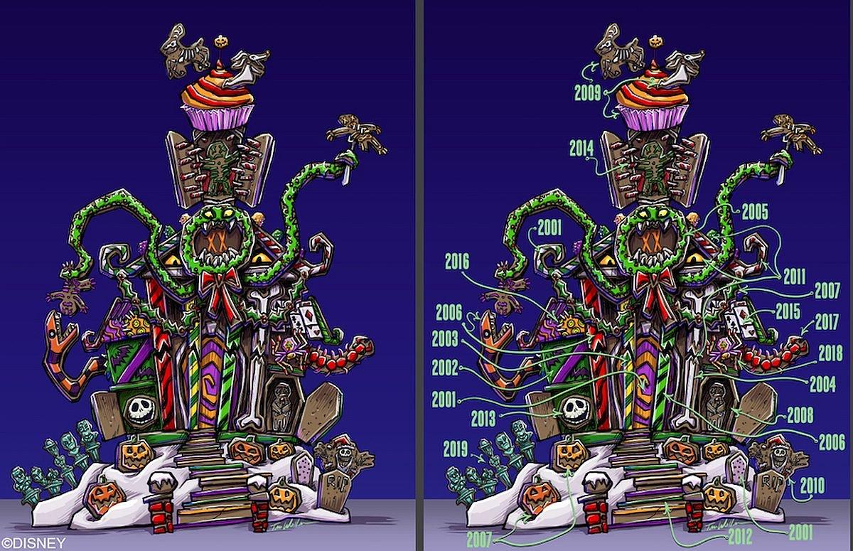 Haunted Mansion Holiuday concept art