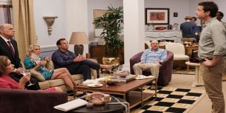 Jessica Walters as Lucille Bluth, Jeffery Tambor as George Bluth, Will Arnett as Gob Bluth, David Cr