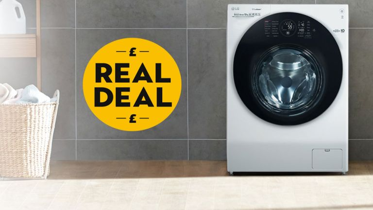 Argos washing machine: LG washing machine in room