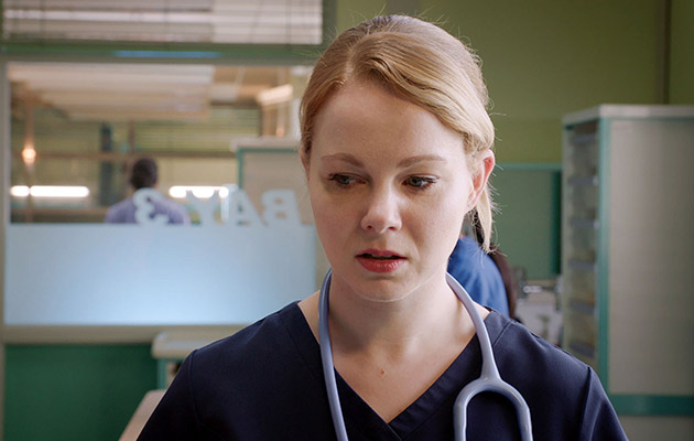 Amy Lennox plays Chloe in Holby City