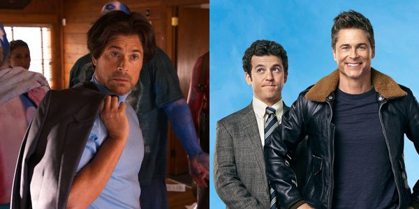 Rob Lowe In The Grinder And Super Troopers 2