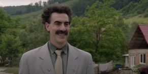 Borat's Sacha Baron Cohen Admits He Was Scared For His Life Filming The Sequel