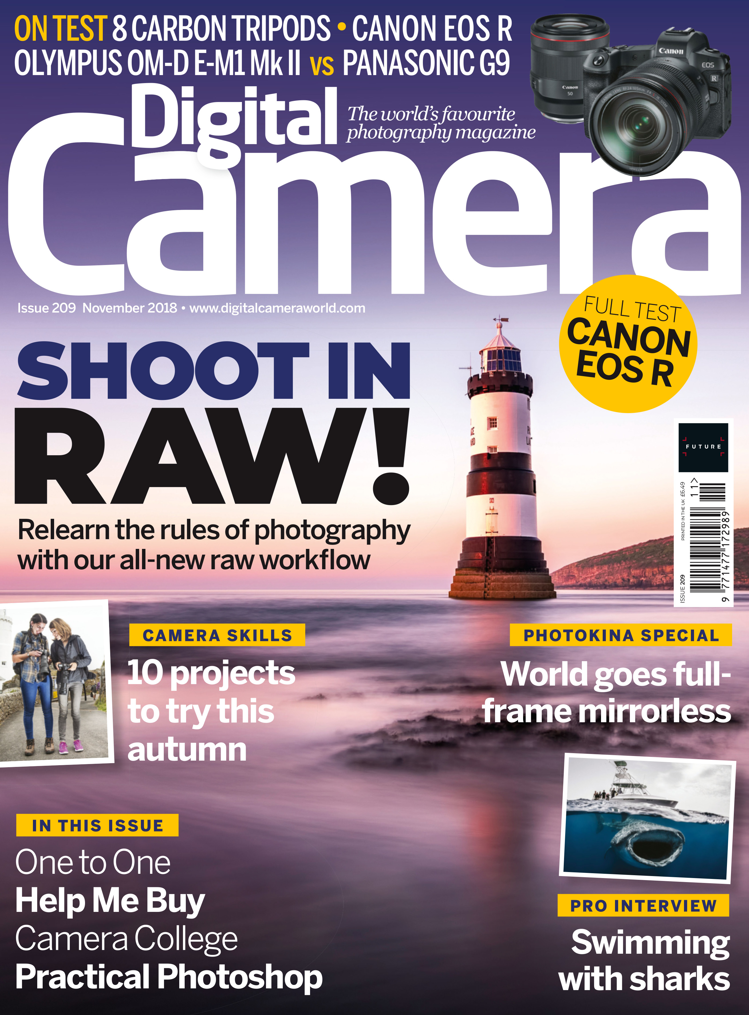 Get a 2019 photo tips calendar with the new issue of Digital Camera magazine