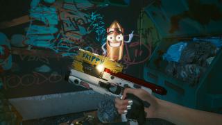 Cyberpunk 2077 Skippy location pistol