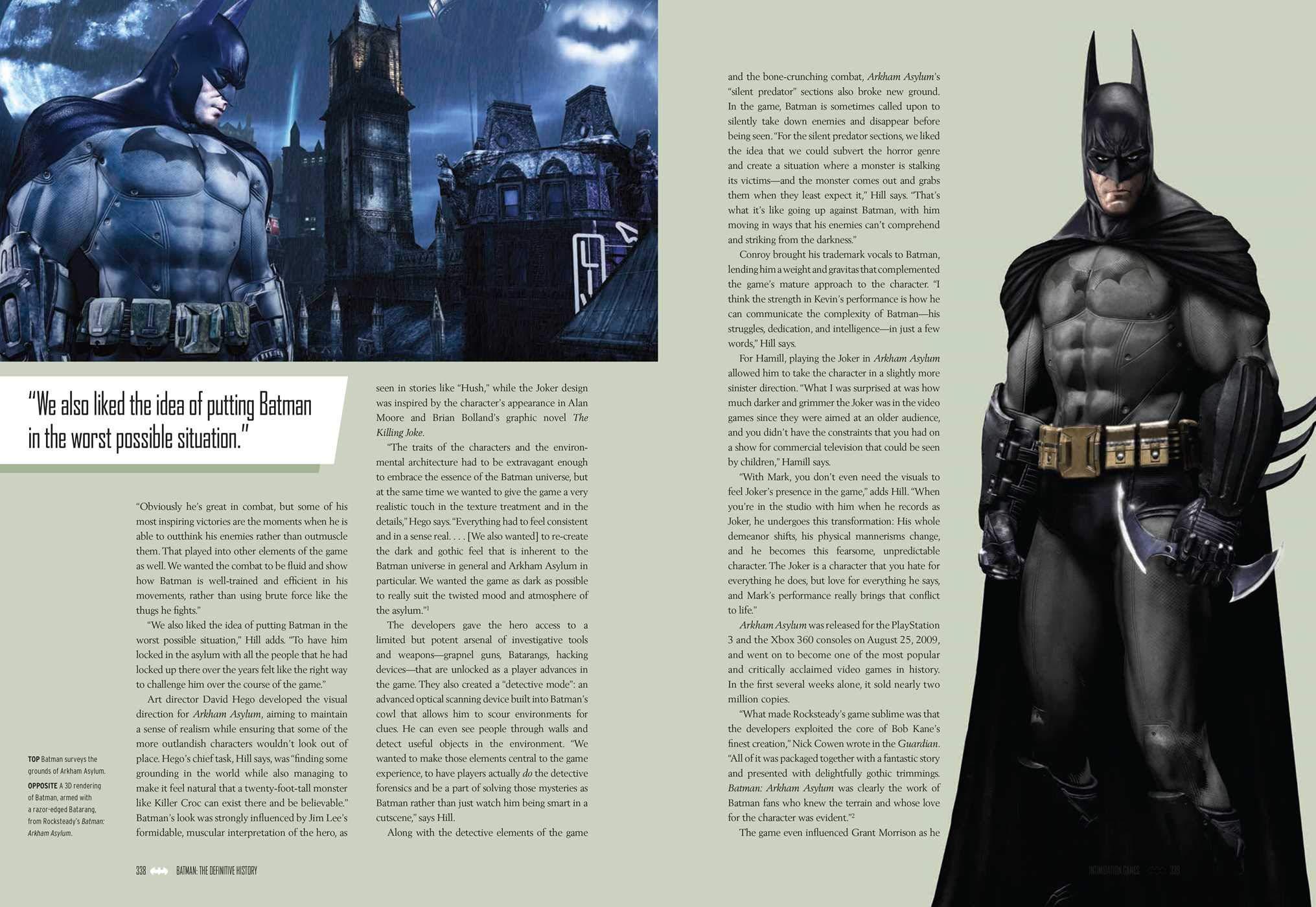 Batman book sample