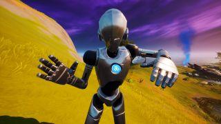 fortnite stark robot dance