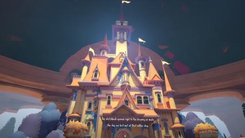 Maquette gameplay screenshot.