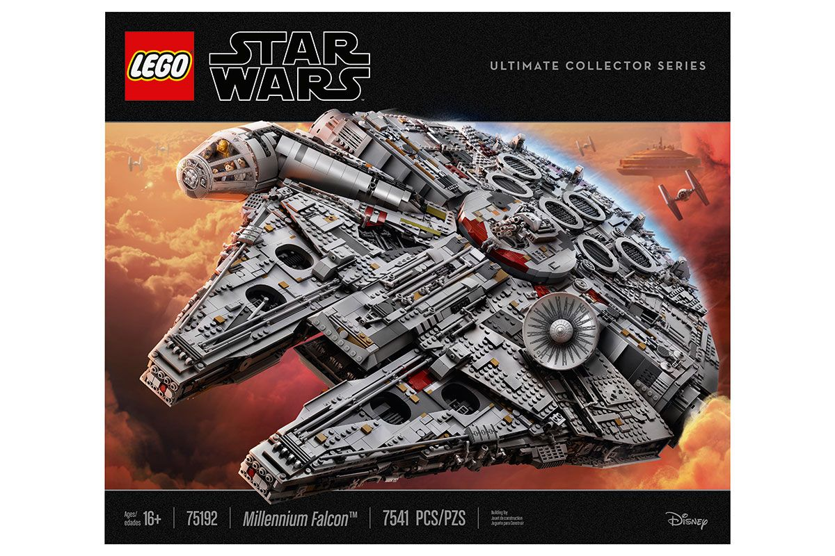 Lego Ucs Millennium Falcon Drops To Lowest Price Ever 40 Off On Amazon For Black Friday Space