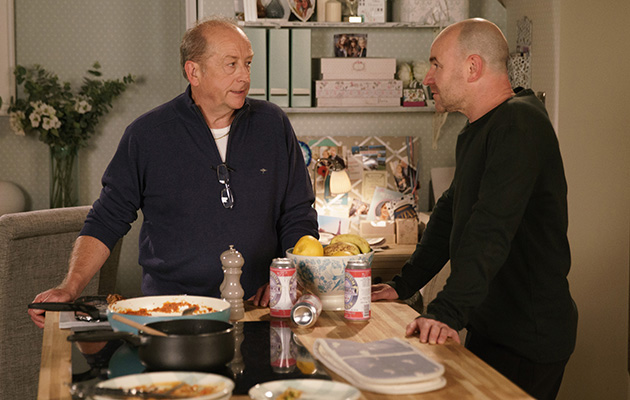 Coronation Street spoilers: Geoff Metcalfe warns Tim about Gina