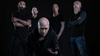 A promotional picture of the Devin Townsend Project