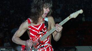 Eddie Van Halen in 1982