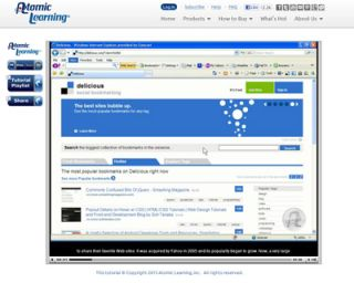 Video Tutorial: Intro to delicious Social Bookmarking Training