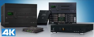 Crestron Demos End-to-End 4K Matrix Switching and Large-Scale Distribution Solution