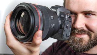 Small camera, big lens