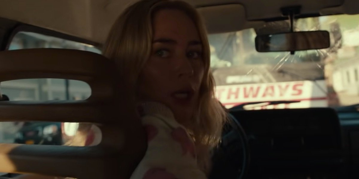 Emily Blunt in A Quiet Place II's trailer