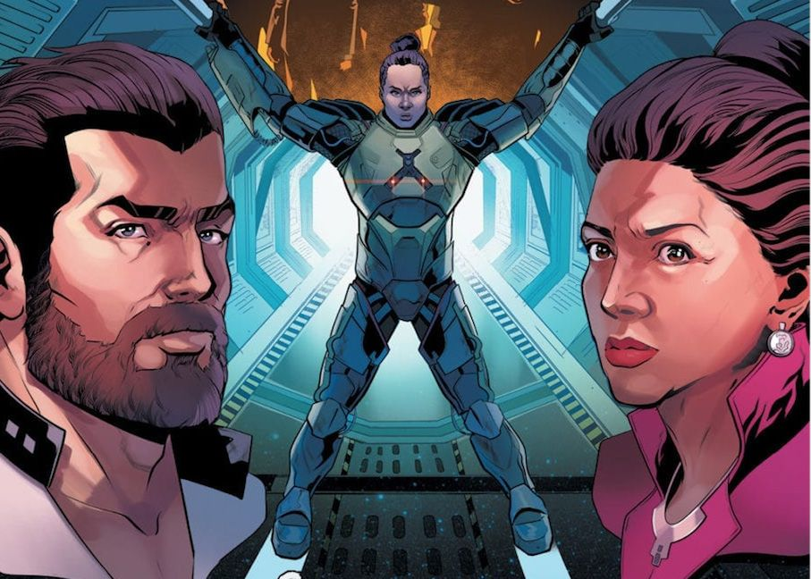 Exclusive: In 'The Expanse #4,' Bobbie and Avasarala brace for a final battle