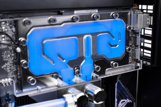 EK-Loop Vertical GPU Holder - Shifted