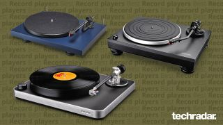 three of the best record players