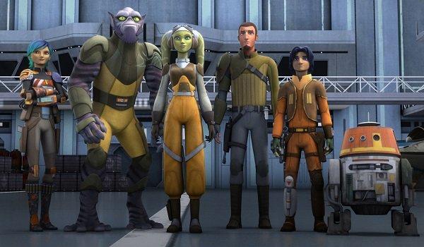 The Ghost Crew Star Wars Rebels Disney XD