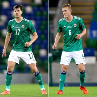 Paddy McNair and George Saville