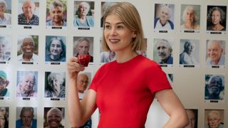 """Rosamund Pike as Marla Grayson in """"I Care A Lot"""" on Netflix."""
