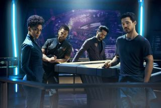 Crew of the ship Rocinante from The Expanse