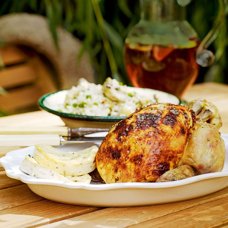 Roast Chicken with Lemon Ricotta recipe-Chicken recipes-recipe ideas-new recipes-woman and home