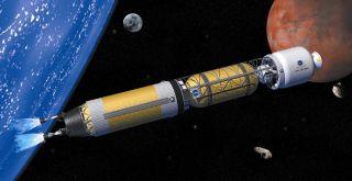 NASA Thermal Rocket Illustration