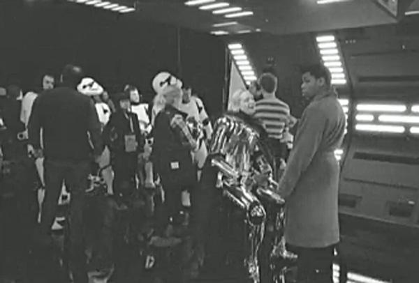 Star wars: the last jedi footage