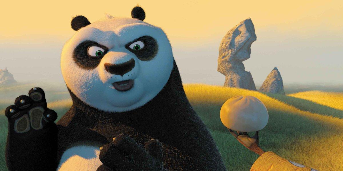 Po (Jack Black) in Kung Fu Panda