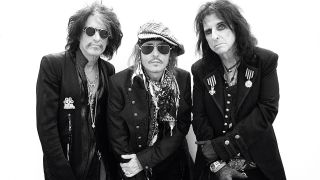 Alice Cooper, Joe Perry and Johnny Depp will release their new album Rise this summer - check out first single Who's Laughing Now