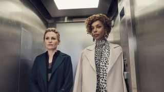 Anna Paquin and Sophie Okenedo in Flack