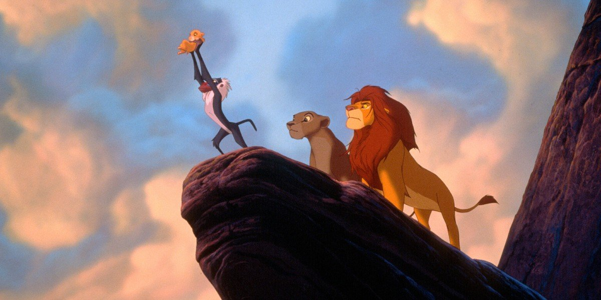 Screenshot from The Lion King (1994)