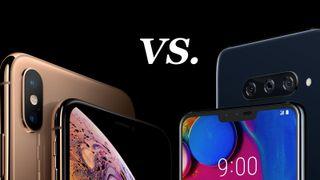 LG V40 ThinQ vs iPhone XS Max | TechRadar