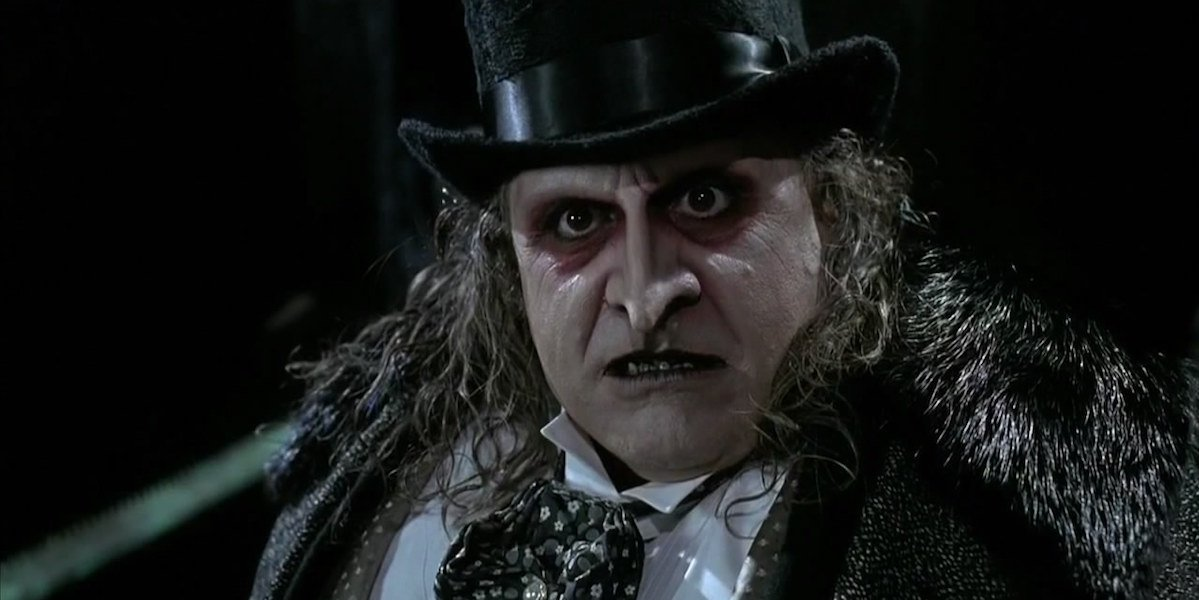 Danny DeVito as Penguin in Batman Returns