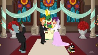 Fry and Leela Get Married