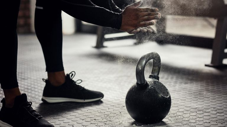 2-move full body workout kettlebell