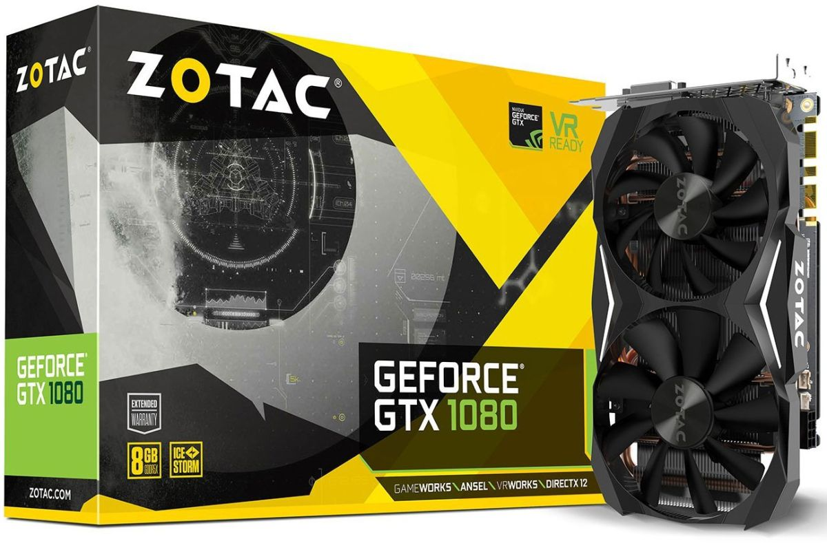 Zotac's GTX 1080 Mini is just $470 ($140 off) right now