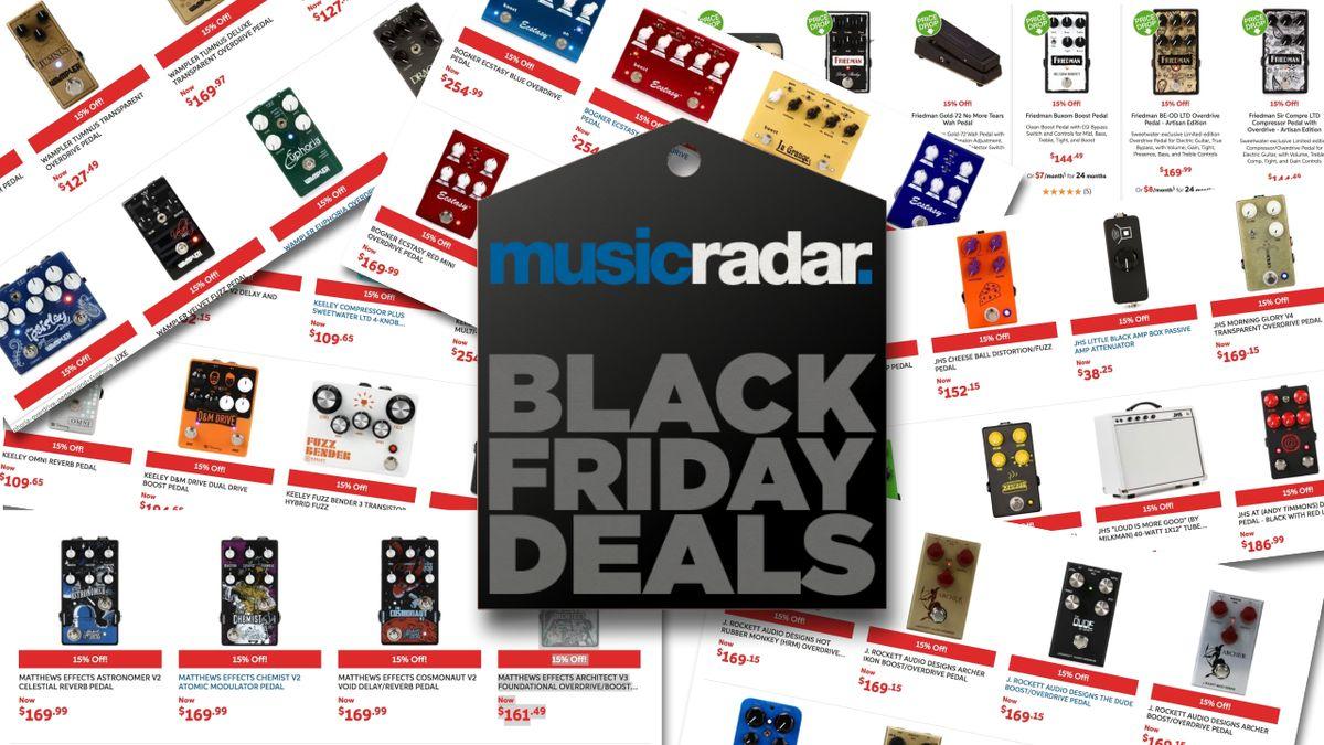 massive black friday guitar pedal savings 15 off jhs keeley wampler diezel matthews. Black Bedroom Furniture Sets. Home Design Ideas