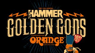 The 2017 Golden Gods logo