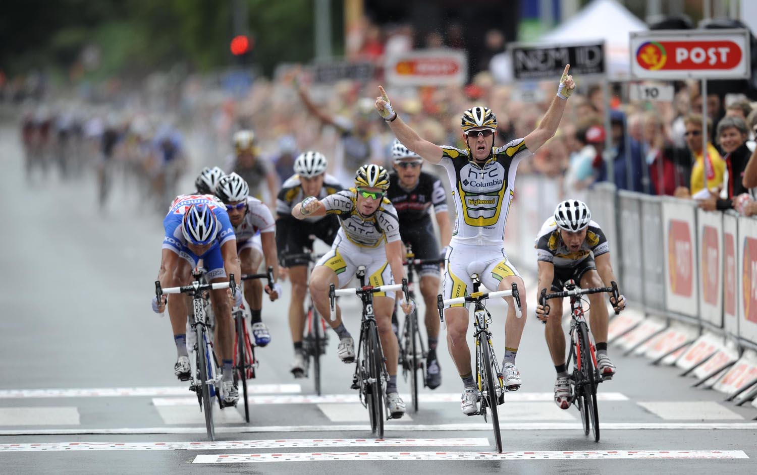 Matt goss wins, Tour of Denmark 2010, stage one