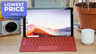 Surface Pro 7 with keyboard bundle deal