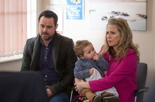 Linda and Mick Carter take son Ollie to the doctor