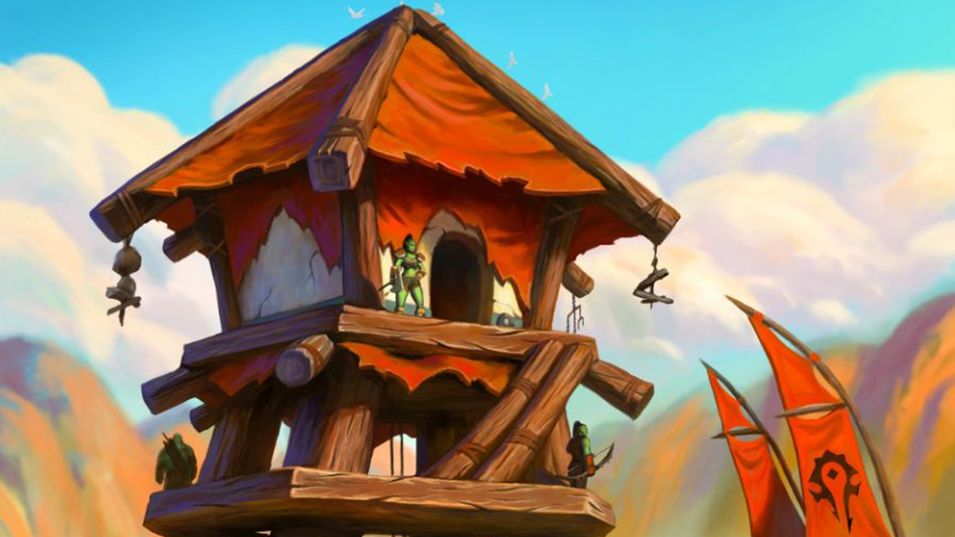 Hearthstone's best new card is somehow a building that can't even attack