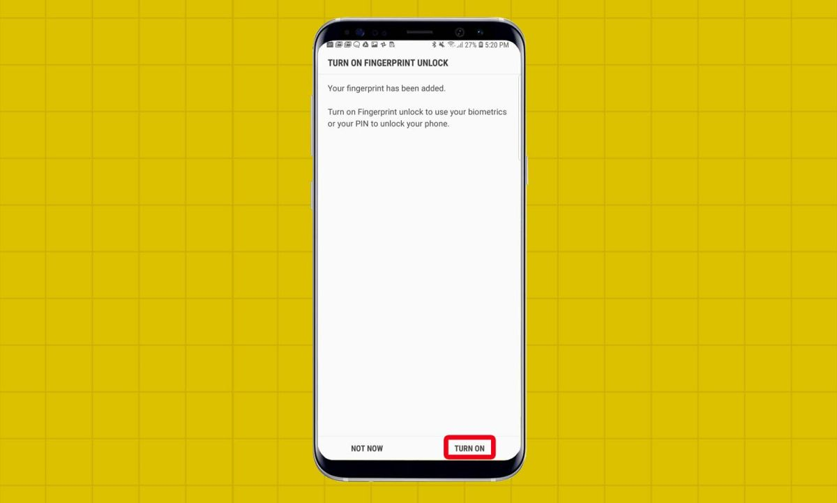 How to Set Up the Galaxy S9's Fingerprint Reader - Galaxy S9 User