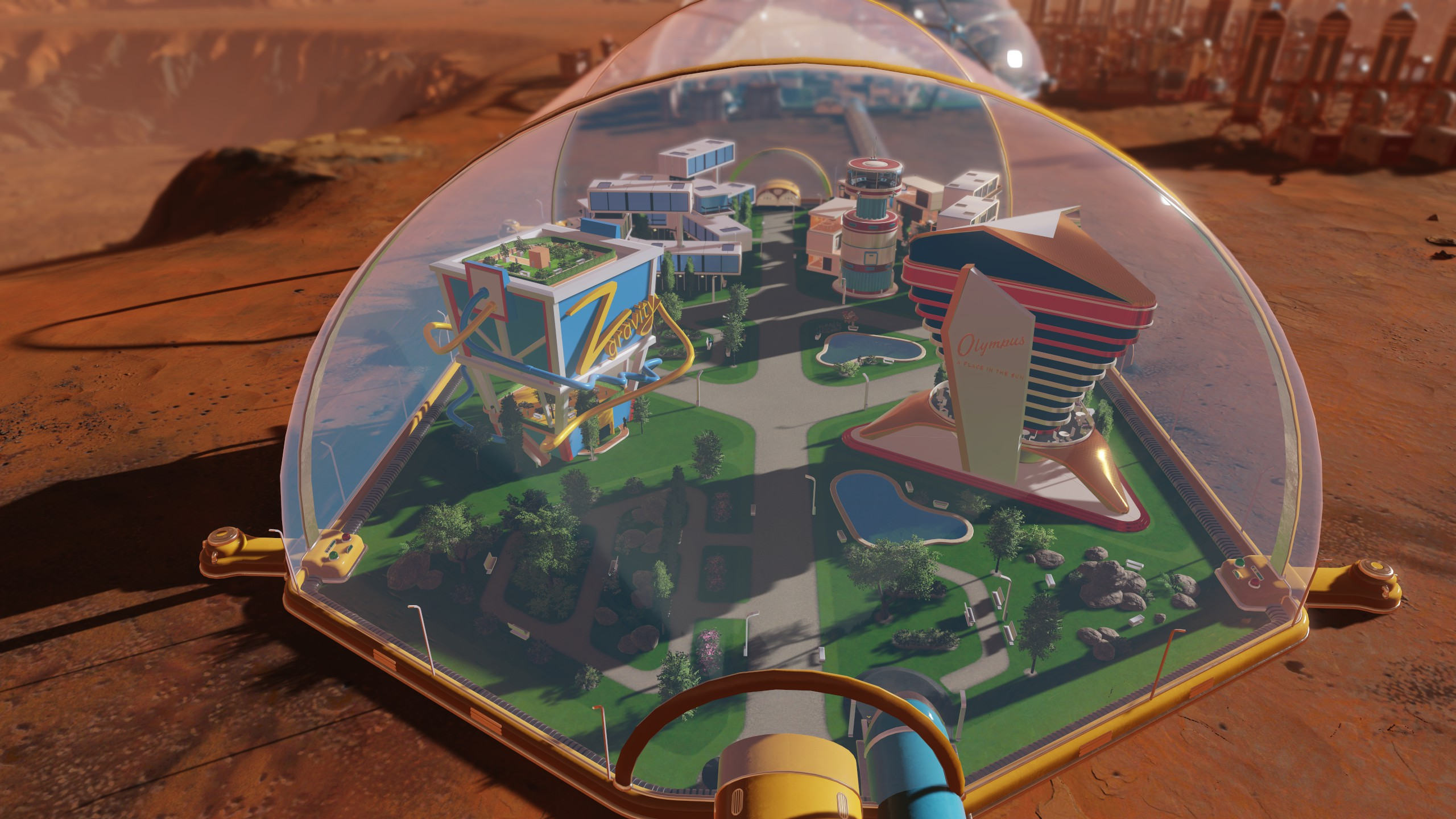 Surviving Mars returns with a new developer, a free update and more DLC