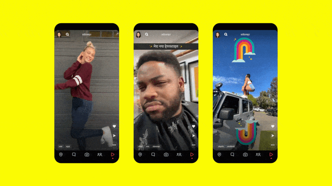 Snapchat unveils its TikTok clone, Spotlight, in India thumbnail