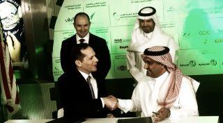DigitalGlobe and Saudi Government Sign Agreement