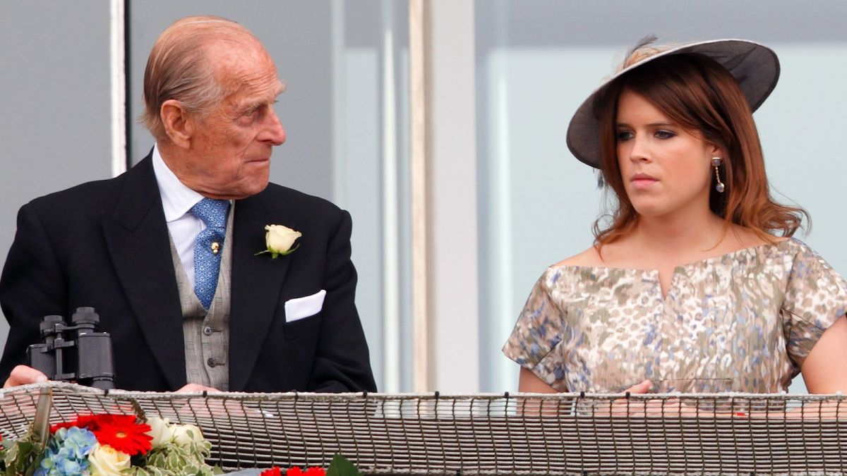 Princess Eugenie reveals the sweet moment Prince Philip met baby August